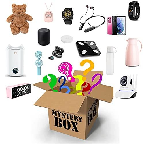 Caja Misteriosa (Caja De La Suerte), Artículo Misterioso, Regalo Sorpresa Aleatorio, como Teléfono Móvil, Auriculares Bluetooth, Altavoz Bluetooth, Etc, Todo Es Posible