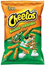 Cheetos, Cheddar Jalapeno Crunchy - 8.5 oz (Pack of 4)