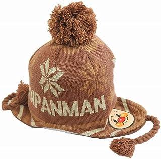 NOBRAND ニット帽 AN73848 アンパンマン キッズ ジュニア 帽子 子供帽子 ニット 耳あて付き 防寒対策 暖かい ネット通販 秋冬