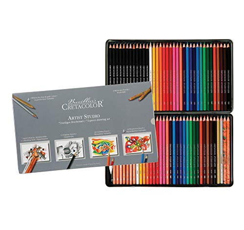 Cretacolor Artist Studio Set 72 Pieces