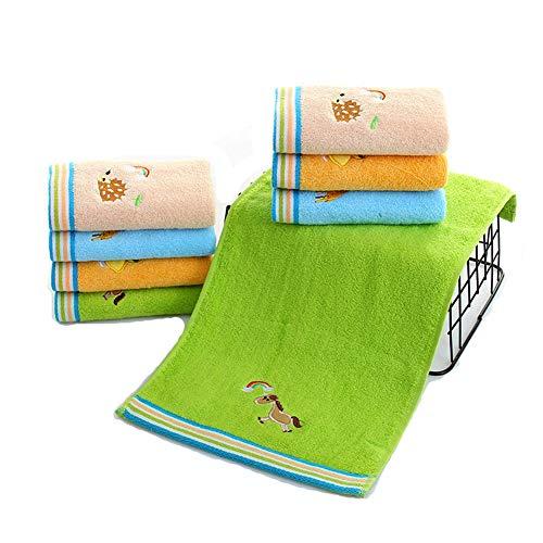 ASR Juego de 4 toallas para invitados, para gimnasio, hogar, playa, piscina, salón, baño,...