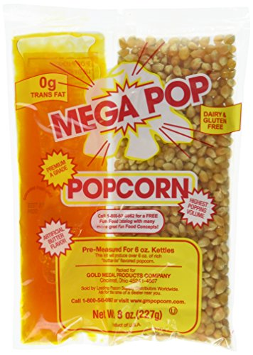Cheapest Price! MEGA-POP 36 ct 8 oz. corn kit for 6 oz popper