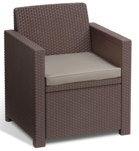 Allibert Lounge-Set Merano 4tlg, braun/taupe - 3