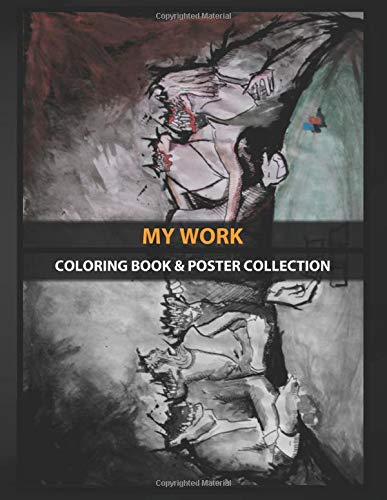 Coloring Book & Poster Collection: My Work Whats Their Game Comics