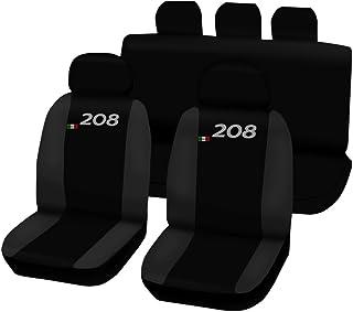 Lupex Shop Seat Covers, Black/Dark Grey