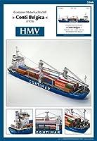 <カードモデル>1:250 コンテナ船 コンティ・ベルギカ