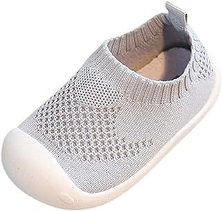Zapatillas Bebe Niño, Zapatos Bebe Niña Verano Bebés Niños, Color Caramelo, Malla, Deporte, Correr, Zapatos Casuales Moda Suave Zapatos Antideslizantes Primeros Zapatos