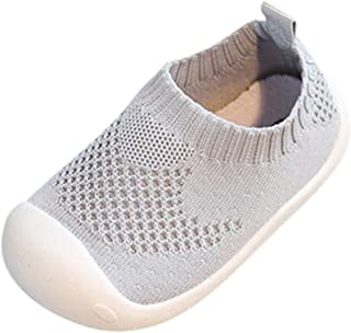 Kstare Baby Shoes Sneakers Infant for Girls Boys, Baby's Walking Tennis Canvas Mesh Light Weight Running Shoe