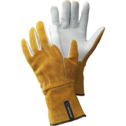 TEGERA WIG-Schweißerhandschuhe Schutzhandschuhe TIG Handschuhe 118 Gr. 10
