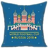 Personalized Pillow Covers Funda de cojín Decorativa de 45 x 45 cm para decoración de día Festivo, decoración del hogar, sofá, Sala de Estar, Coche