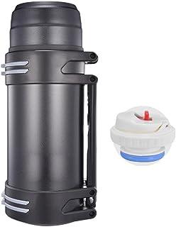 sin BPA Plata a Prueba de Fugas de contenedores de Calor Soul hill Botella 2L Comida Caliente Termo de Acero Inoxidable Tanque de Alimentos con 3 contenedores de Acero Inoxidable Withbag