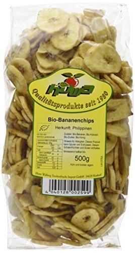 Howa Bio Bananenchips gesüßt mit Honig (1 x 500 g)