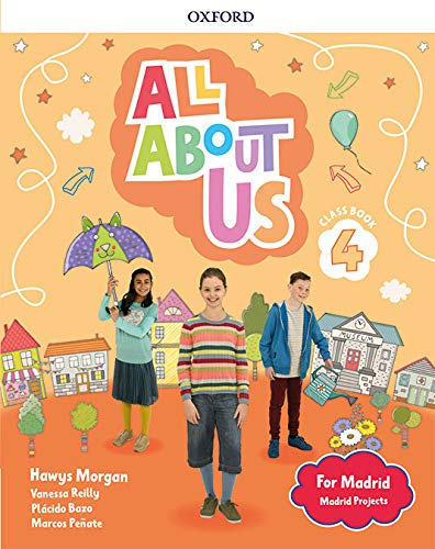 All About Us for Madrid 4. Class Book . Edición Madrid