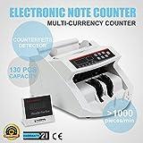 OPoor Conta Banconote Denaro Contatore Con Display LED Contabanconote Professionale Con Rivelatore Di Banconote False Contasoldi Conta (Macchina)