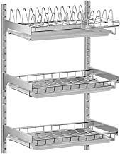 Kitchen Storage Rack Wall-Mounted Dish Rack | 304 Stainless Steel 2 Layers / 3 Layers Optional for Kitchen, Storage