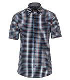 Casa Moda Comfort Fit 913671000 - Camisa de manga corta para hombre Azul (102). XXXL