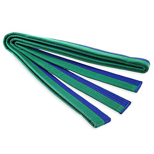 Ndier Cinturón Taekwondo de artes marciales de Karate azul y verde