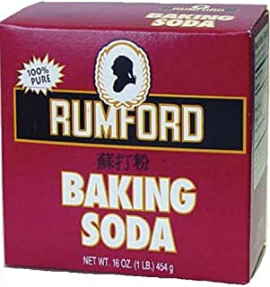 Rumford Baking Soda, 16 Ounce (Pack of 24)