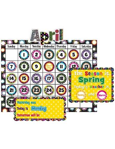 Teacher Created Resources Fancy Circles Calendar Bulletin Board (5205)