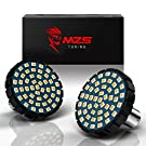 """MZS 2"""" Amber 1156 Rear Turn Signal LED Bulb w/2835 Chips Bullet Style All-in-One Light Kit Compatible Motorcycles Harley Davidson"""