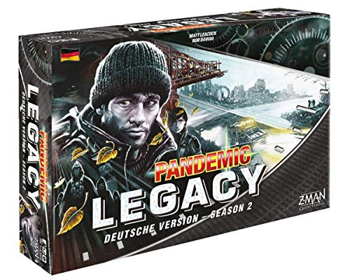 Pandemie Legacy - Season 2 - Brettspiel | Schwarze Edition | Deutsche Version