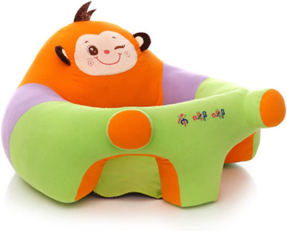 Chaise de b/éb/é pour l/'apprentissage de la position assise Pour enfants de 6 /à 12/mois Coussin en peluche avec motif d/'animal Bluespace