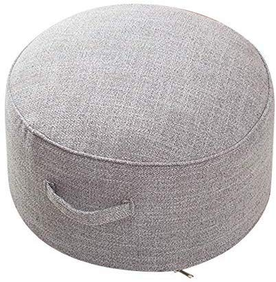 Valink Round Floor Seat Cotton Linen Cushion Meditation Mat Removable Washable Cushion,...