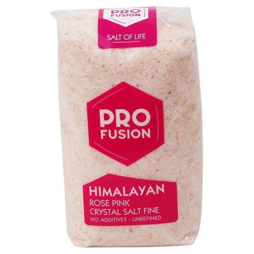 PROFUSION- Sale Rosa dell'Himalaya - Sale da cucina a basso contenuto di sodio - Confezione da 500 gr