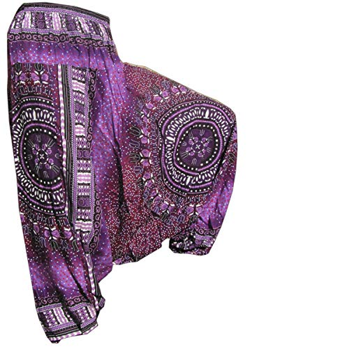 PANASIAM Aladin Pants, Maoi 01, Violette L