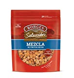 Borges - Mezcla de Fritos, Principalmente: Garbanzos, Habas, Maíz y Cacahuete - Bolsa de 180 Gramos.