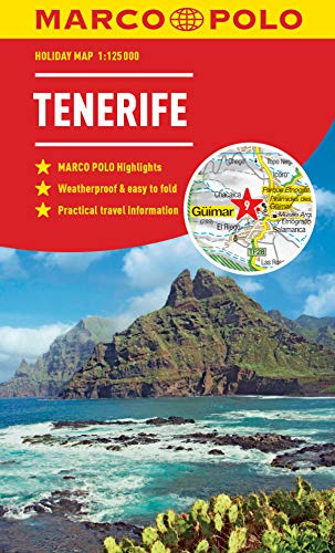 Tenerife Marco Polo Holiday Map 2019 - pocket size, easy fol