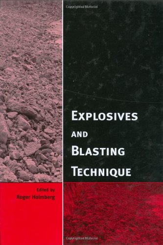 Explosives and Blasting Technique: Proceedings of the EFEE 2nd World Conference, Prague, Czech Republic, 10-12 September 2003