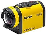 Kodak Full HD 1080p cámara de acción Amarillo/Negro