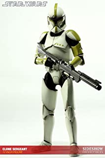 Sideshow Collectibles Militaries of Star Wars 12 Inch Deluxe Action Figure Clone Trooper Sergeant Phase 1