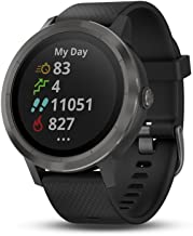Garmin vívoactive 3 GPS Smartwatch - Black & Gunmetal (Renewed)