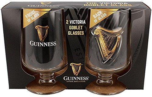Guinness Victoria Calice Stelo Bicchieri Confezione Doppia (sg)