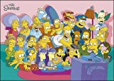 MoviePostersDirect The Simpsons (Cast Couch)Maxi pster61cm x 91.5cm