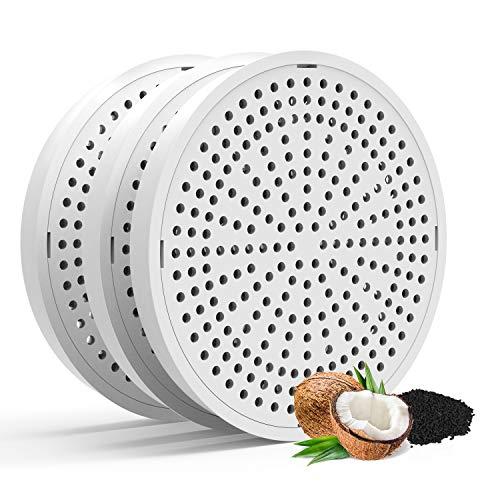 HoneyGuaridan Recambios de Filtros de Carbón Actualizado para Fuente de Agua para Mascotas W18/W25/W25 Pro Fuente de Agua para Mascotas - Pack de 3
