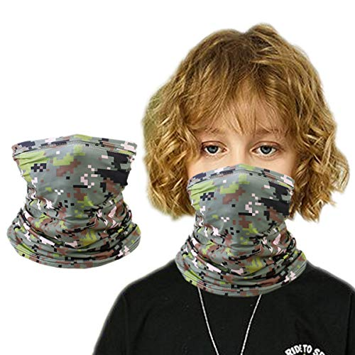 Sun UV Protection Bandana Neck Gaiter Scarf Balaclava, Face Cover for Toddler Kids Child Girl Boy Gift, Magical Multi Funtion, Mask Half Face Infinity Scarf, Fishing Hiking Travel Outdoor