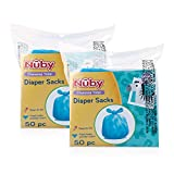 Nuby Diaper Disposable Bags, Fresh Baby...