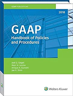 GAAP Handbook of Policies and Procedures (2018)