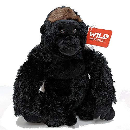 Wild Republic Plüsch  Gorilla Silberrücken, Cuddlekins Kuscheltier, Plüschtier, 30cm