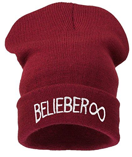 4 verkochte mannen vrouwen Beanie Hoed Winter Warm Zwart Slecht Haar Dag Plezier Oversized hoed