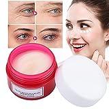 Crema de ojos seguros, resplandor de la piel 20 g de ojo fino líneas de ácido hialurónico hecho de extractos de plantas