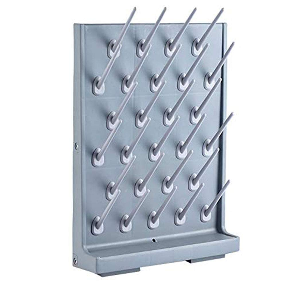 Drying Rack 27 Pegs Lab Max 81% OFF Wall-Mount Bench-top Max 78% OFF Pegboard Supply