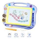 FONLLAM Kids Drawing Board - Magna Drawing Doodle - Magnetic Drawing Board for Toddlers Girls, Boys, Erasable Sketch Pad for Writing Painting