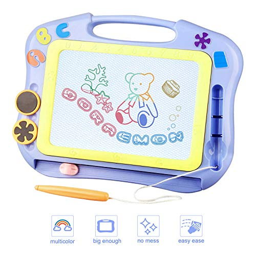 FONLLAM Kids Drawing Board - Magna Drawing Doodle - Magnetic Drawing...