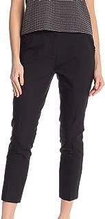 Womens Pants Skinny Crop Leg Stretch Black 10
