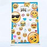 DioLm 10 Teile/los Alles Gute Zum Geburtstag Thema Geschenk Tasche Party Dekoration Kunststoff Süßigkeiten Tasche Beutetasche Für Kindergeburtstag Festival Supplies, Emoji