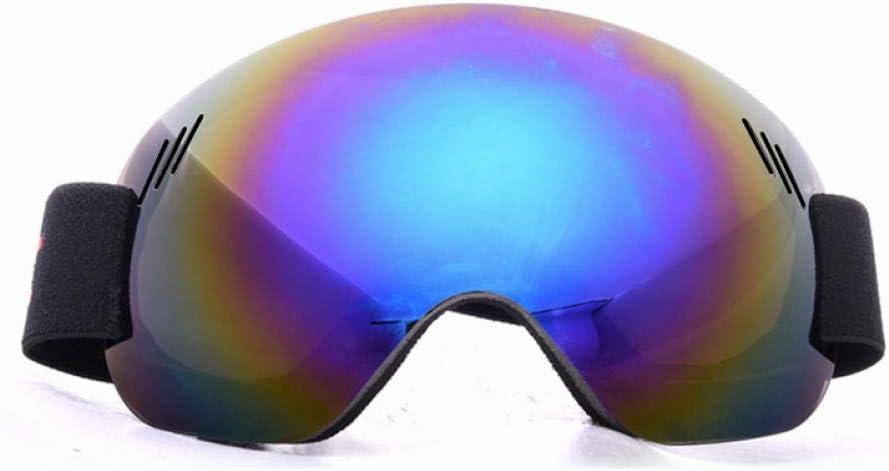 SlimpleStudio Esquí, Patinaje, portadores de Gafas,Gafas de esquí, antivaho, a Prueba de Arena, Gafas esféricas Grandes para Hombre y Mujer, Gafas de montañismo y Nieve